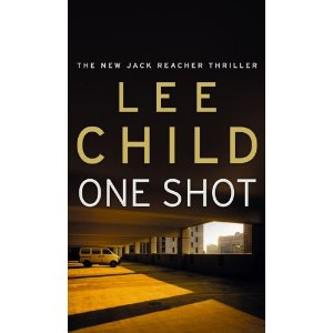 one shot lee child new cover