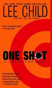 one shot lee child