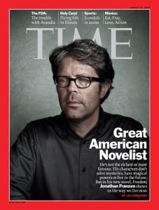 Time Magazine - Jonathan Franzen - Great American Novelist