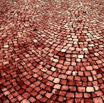 Belgium - cobblestones - Lilia wants it square