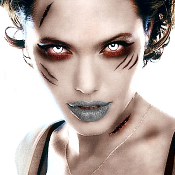 zombie woman angelina jolie