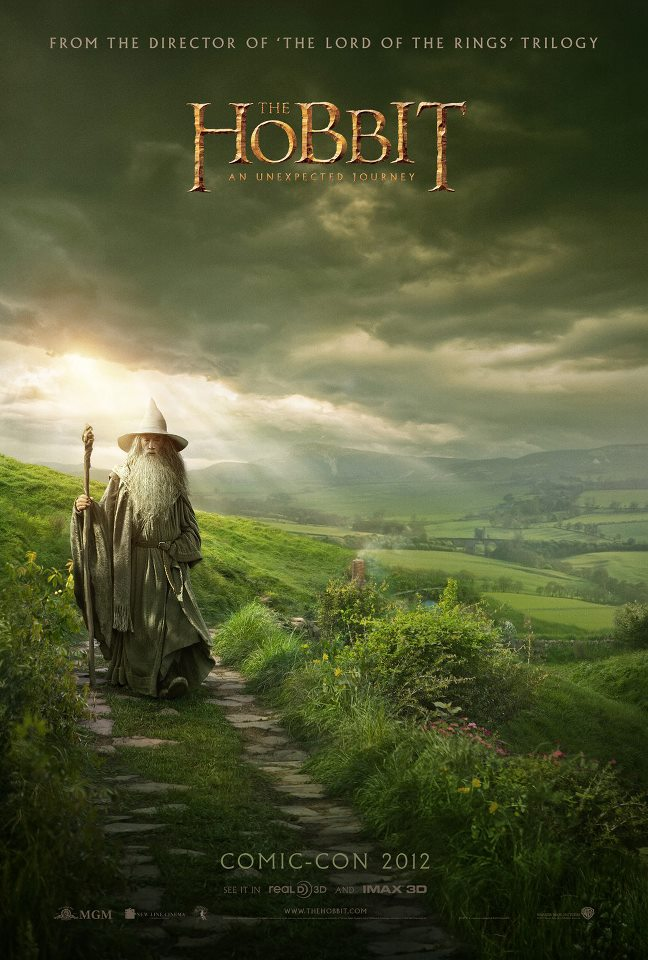 the hobbit, the worst movie poster OF ALL TIME