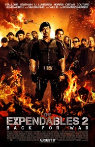 THE EXPENDABLES 2 movie poster.