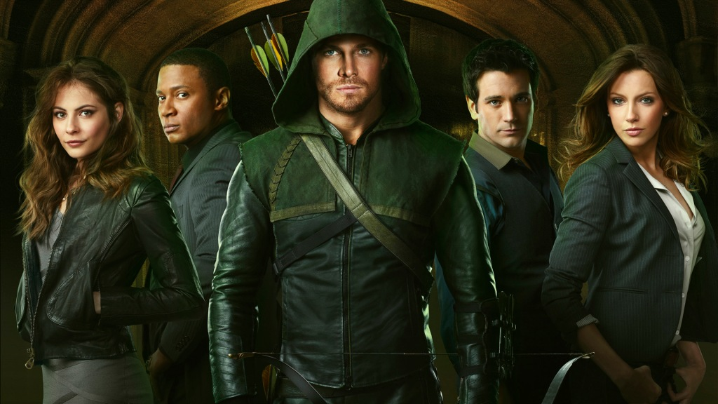 Cast of ARROW tv show