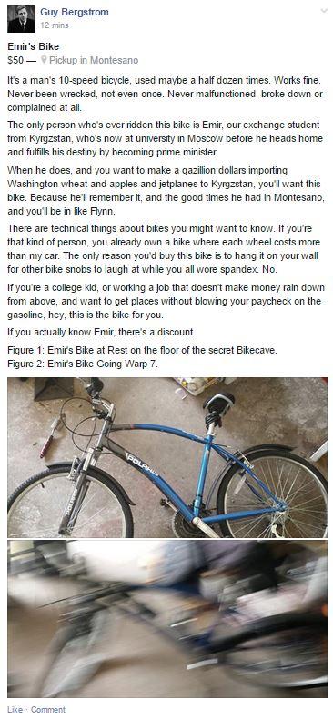 Emir's Bike