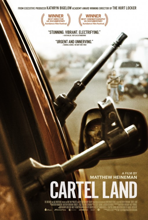 cartel land movie poster