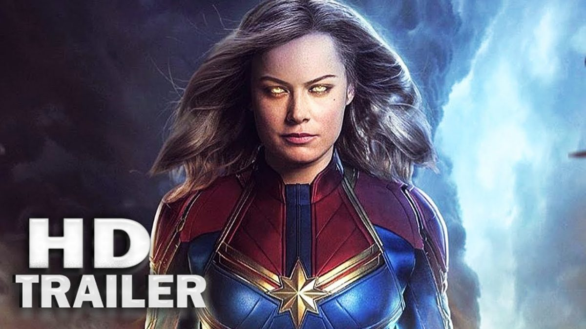 captain marvel first movie trailer